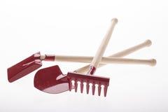 инструменты весеннего времени сада садовничая Стоковые Фотографии RF