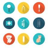 Инструменты ветеринара Стоковые Фотографии RF