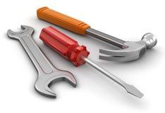 Инструменты (включенный путь клиппирования) иллюстрация вектора