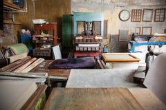 Инструменты в бумажной фабрике Стоковая Фотография RF