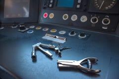 Инструменты деятельности проводника стоковые изображения