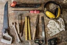 Инструменты для работ по дереву Стоковая Фотография RF