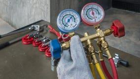 Инструменты для HVAC стоковые фото