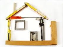 инструменты дома Стоковые Фотографии RF