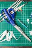 Инструменты заплатки шить Стоковое Изображение RF