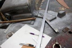 Инструменты измерения Стоковое Изображение RF