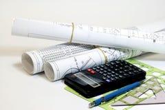 инструменты инженера Стоковое Изображение
