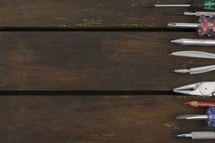 Инструменты и аксессуары инженерства Стоковая Фотография
