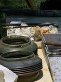 инструменты колеривщиков Стоковое фото RF