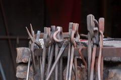 Инструменты кузнеца торговли Стоковая Фотография RF