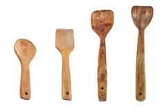 Инструменты кухни шпателя ложки Стоковая Фотография