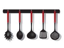 инструменты кухни Стоковое Изображение