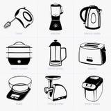 Инструменты кухни Стоковая Фотография