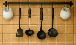 инструменты кухни стоковые изображения