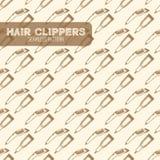 Инструменты клиперов волос Стоковая Фотография