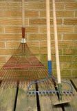 инструменты лужайки сада Стоковое Фото