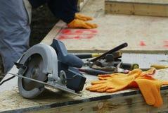 инструменты места строения Стоковая Фотография RF