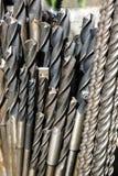 инструменты металла машин сверла промышленные Стоковые Изображения RF