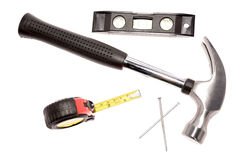 инструменты молотка плотничества Стоковая Фотография RF