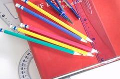 инструменты набора неподвижные Стоковое Изображение RF