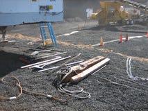 Инструменты на строительной площадке Стоковые Изображения RF