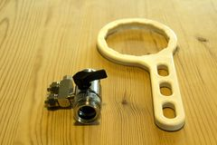 Инструменты обратного осмоза стоковое изображение