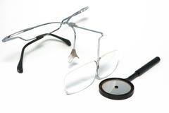 инструменты оториноларингологии установленные Стоковое Фото