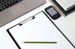 Инструменты офиса стоковые изображения