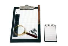 инструменты офиса Стоковое фото RF