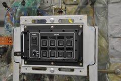 инструменты панели управления машины цифрового входного сигнала прибора контрольных данных стоковая фотография