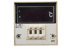 инструменты панели управления машины цифрового входного сигнала прибора контрольных данных Стоковое фото RF