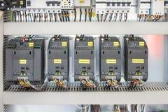 инструменты панели управления машины цифрового входного сигнала прибора контрольных данных Стоковое Изображение RF
