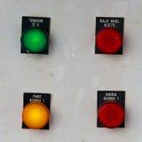 инструменты панели управления машины цифрового входного сигнала прибора контрольных данных Стоковые Фото
