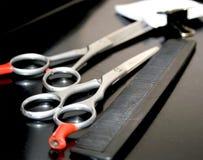 инструменты парикмахерскаи Стоковое фото RF