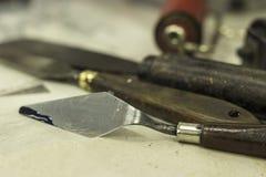 Инструменты печати Стоковые Изображения RF