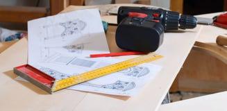 инструменты плана Стоковая Фотография RF
