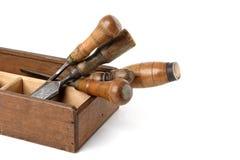 инструменты плотников Стоковая Фотография RF
