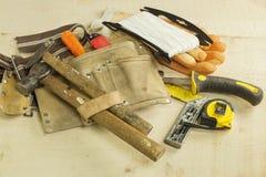 Инструменты плотничества Стоковое фото RF