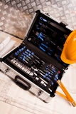 инструменты полного набора Стоковые Фотографии RF