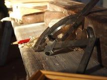 Инструменты плотника Стоковые Фото