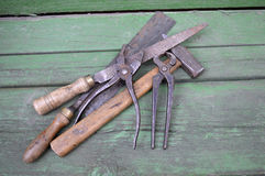 Инструменты плотничества Стоковая Фотография
