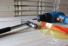 Инструменты работы на древесине стоковые фотографии rf