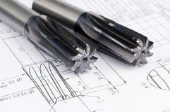 инструменты рейбора готового металла стоковые фотографии rf