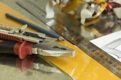 Инструменты рекламы Стоковая Фотография RF