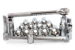 инструменты руки установленные Стоковое Изображение RF