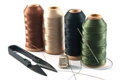 Инструменты руки шить Стоковые Фото