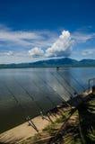 Инструменты рыбной ловли Стоковое Фото