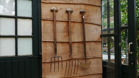инструменты сада старые Стоковая Фотография RF