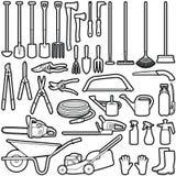 Инструменты садовника Стоковая Фотография