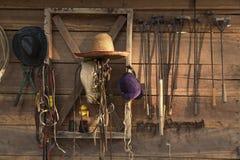 Инструменты скотного двора клеймя Стоковое Изображение RF
